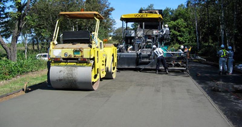 Roller Compacted Concrete Equipment : Shaya beton golestan concrete procedures roller
